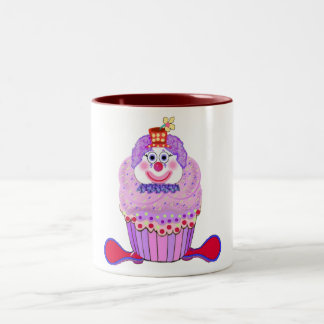 Cupcake Clown Mug