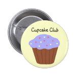 Cupcake Club 2 Inch Round Button