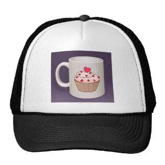 Cupcake Coffee Mug Mesh Hats