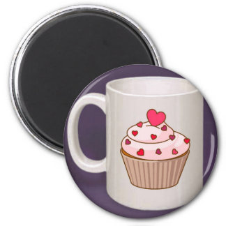 Cupcake Coffee Mug Refrigerator Magnets