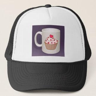 Cupcake Coffee Mug Trucker Hat
