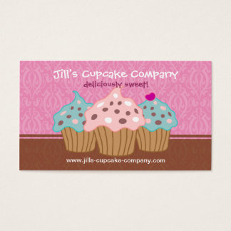 Cupcake Company Business Card