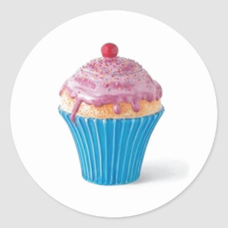 Cupcake cookie jar stickers