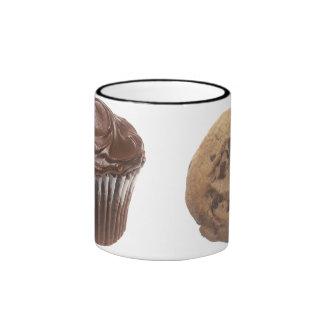 Cupcake & Cookie Ringer Mug