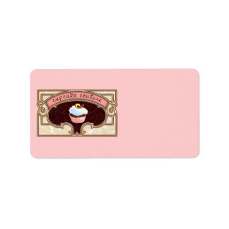 Cupcake Couture Pink Labels