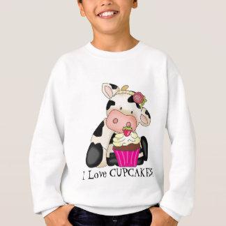 Cupcake Cow Sweatshirt