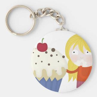 cupcake craving keychain