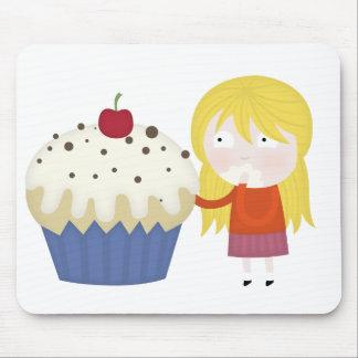 cupcake craving mouse pad