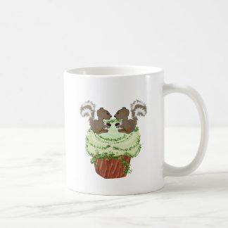 Cupcake Critters Squirrels Coffee Mug