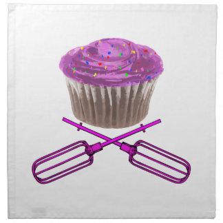 Cupcake & Crossbeaters Cloth Napkin