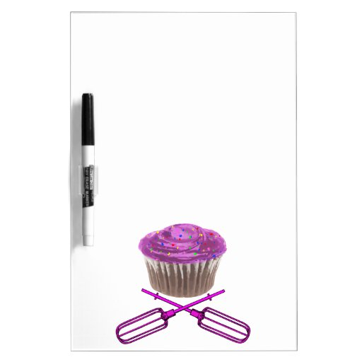 Cupcake & Crossbeaters Dry Erase Whiteboards