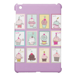 Cupcake Cupcakes Collage Sweet Desserts Snack Love Case For The iPad Mini