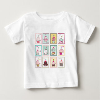 Cupcake Cupcakes Collage Sweet Desserts Snack Love T Shirts