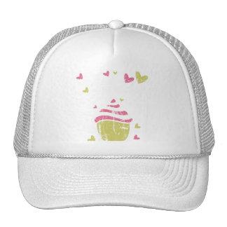Cupcake Cupcakes Food Desserts Sweet Snack Love Mesh Hat