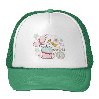 Cupcake Cupcakes Food Desserts Sweet Snack Lovely Trucker Hat