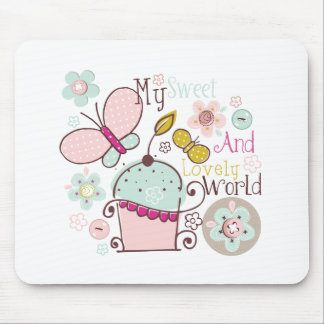 Cupcake Cupcakes Food Desserts Sweet Snack Lovely Mouse Pad