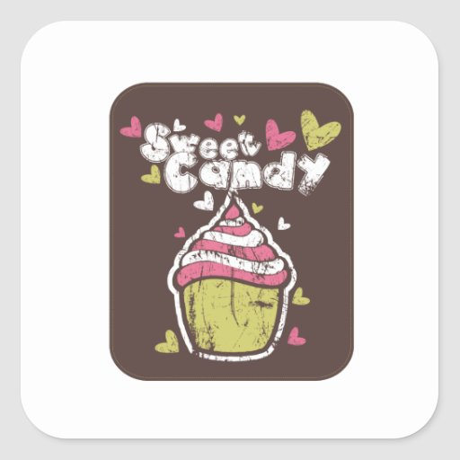 Cupcake Cupcakes Sweet Candy Desserts Snack Love Sticker