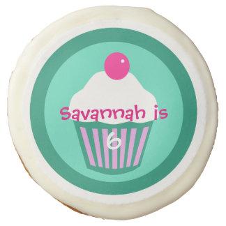 Cupcake custom cookie