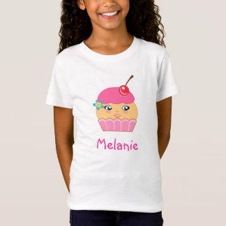 Cupcake Cute Kawaii Pink Character Girls Tee