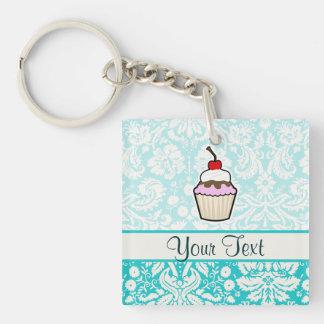 Cupcake; cute keychain