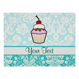 Cupcake cute print