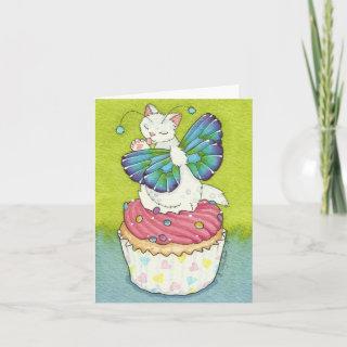 Cupcake Cutie Birthday Invitation Moussart Card