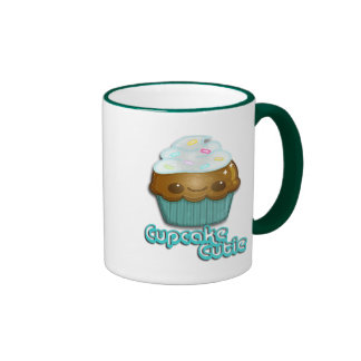 Cupcake Cutie Ringer Coffee Mug