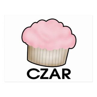 Cupcake Czar Postcard