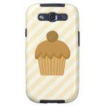 Cupcake. de Brown Galaxy SIII Carcasa