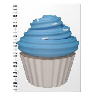 Cupcake de uva libro de apuntes
