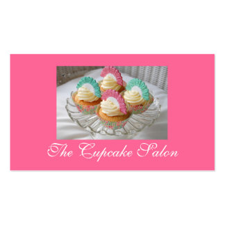 Cupcake decorating Classes Business Cards