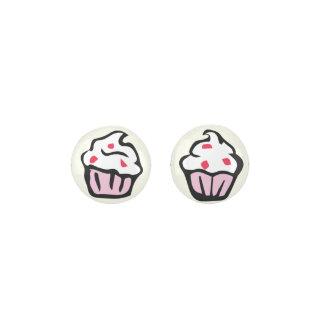 Cupcake Design Earrings