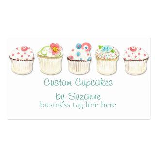 Cupcake Dessert Baking Bakery Business Identity Business Cards