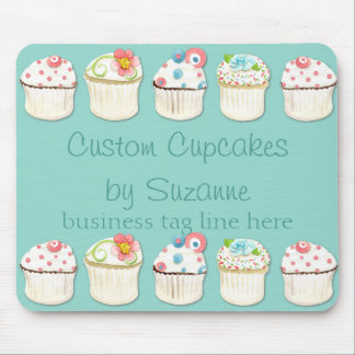Cupcake Dessert Baking Bakery Business Identity Mouse Pad