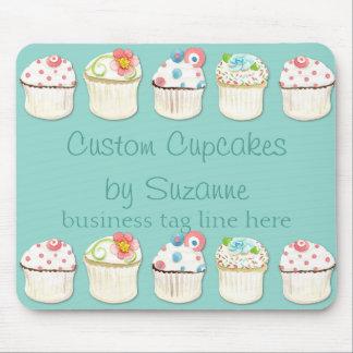 Cupcake Dessert Baking Bakery Business Identity Mouse Pad
