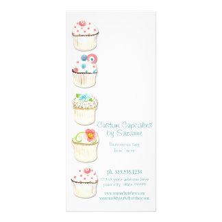 Cupcake Dessert Baking Bakery Business Identity Rack Card