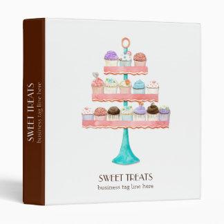 Cupcake Dessert Baking Bakery Business Package 3 Ring Binder