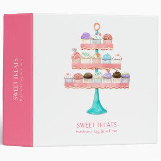 Cupcake Dessert Baking Bakery Business Package Binder