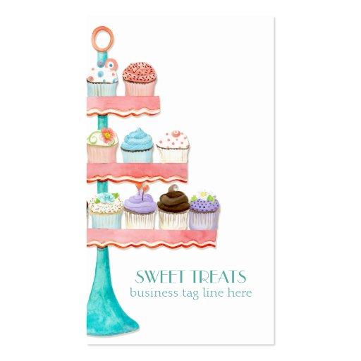 Cupcake Dessert Baking Bakery Business Package Business Card Template