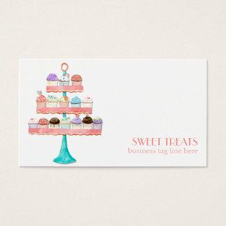 Cupcake Dessert Baking Bakery Business Package Business Card