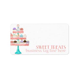 Cupcake Dessert Baking Bakery Business Package Label