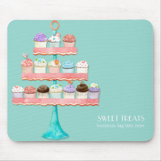 Cupcake Dessert Baking Bakery Business Package Mouse Pad