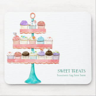 Cupcake Dessert Baking Bakery Business Package Mouse Pads