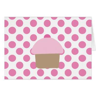 Cupcake Dotz Notecard