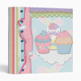 Cupcake Dreams Recipe Notebook Vinyl Binders