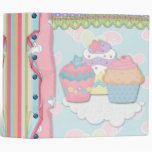 Cupcake Dreams Recipe Notebook Binders