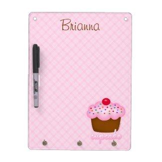 Cupcake Dry-Erase Whiteboard
