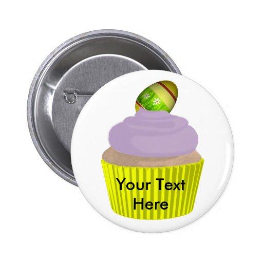 Cupcake-Easter Pinback Button