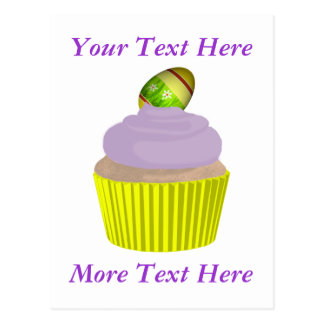 Cupcake-Easter Post Card