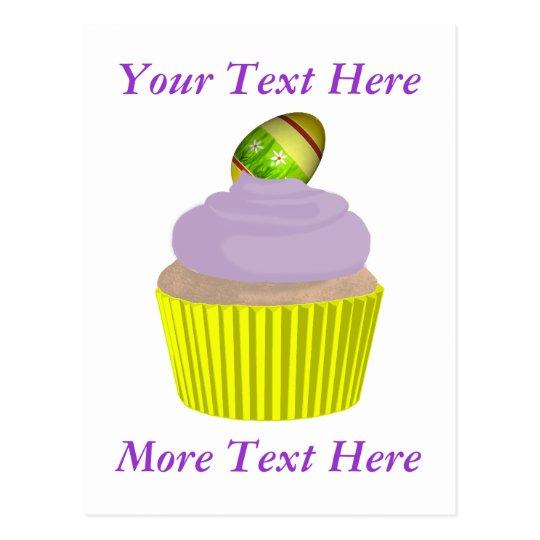 Cupcake-Easter Postcard